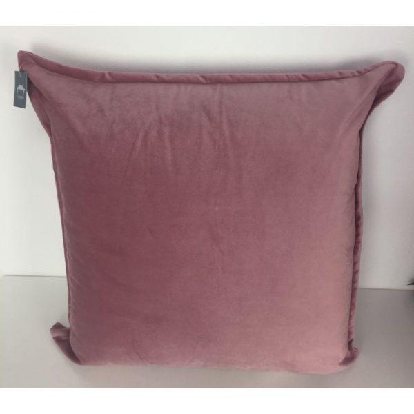 Pink Velvet Cushion Cover 44x44cm
