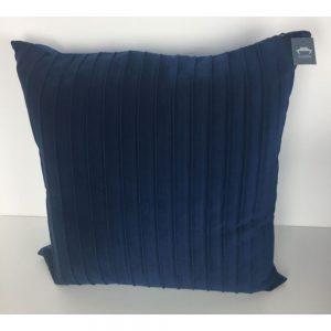 Ribbed Velvet Navy Cushion Covers 56x56cm