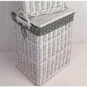 Elena Large Laundry Basket