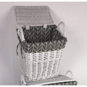 Elena Small Laundry Basket