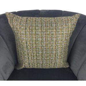Green Gold White Fleck Cushion Cover 44x44cm