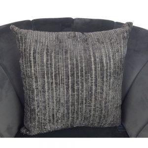 Grey Chenille Cushion Cover 44x44cm