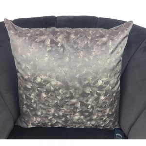 Cushion Cover Grey with Gold 44x44cm