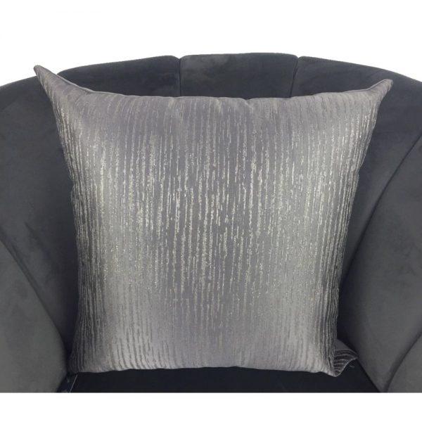 Cushion Cover Grey 44x44cm