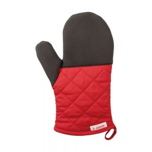 Judge Traditional Oven Glove Red