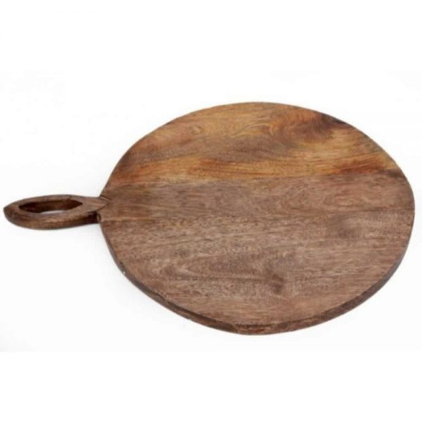 49x38cm Chop Board With Carved Handle