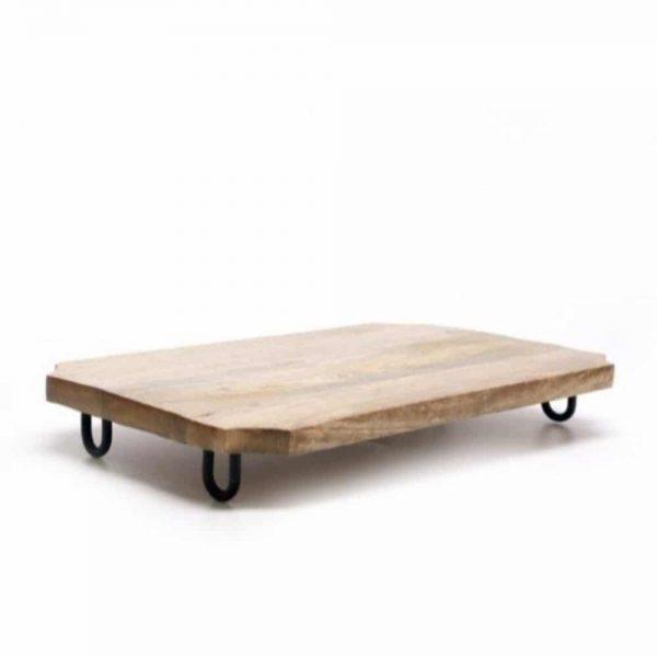 40x25cm Chopping Board On Legs