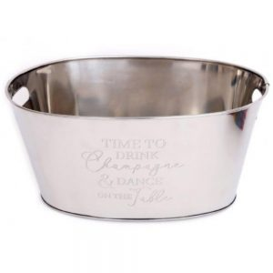 Stainless Steel Champagne Cooler 40x25cm