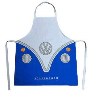 Apron VW Campervan Blue PolyCotton