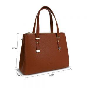 LYDC Handbag in Brown