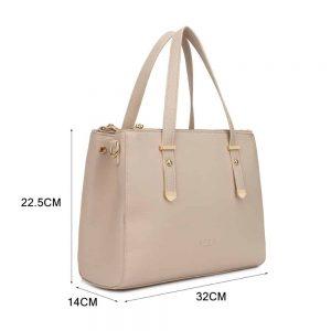 LYDC Handbag in Cream
