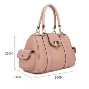 LYDC Handbag In Dust Pink