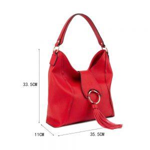 LYDC Handbag In Red