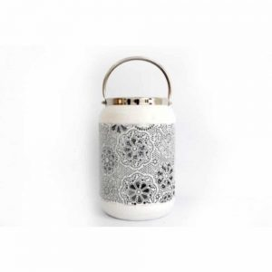 28x20cm Flower Design Lantern