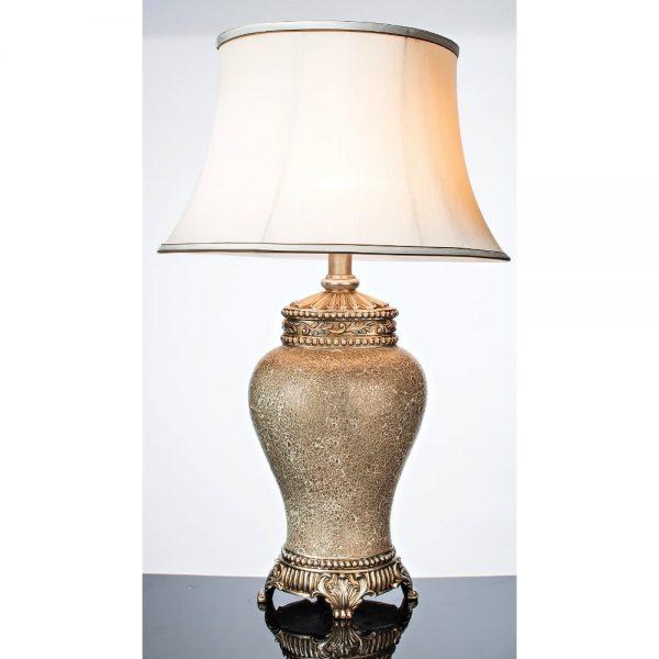 Ivory Mosaic Lamp Height 76cm