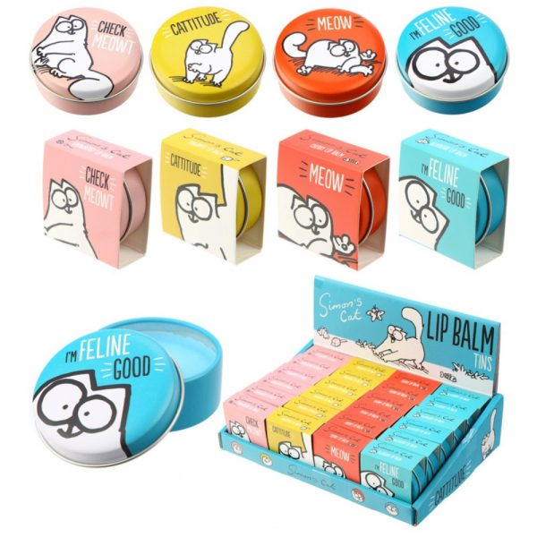 Simons Cat Lip Balm in a Tin