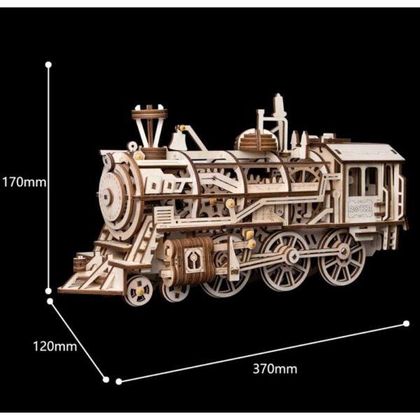 Locomotive Mechanical DIY Model Kit