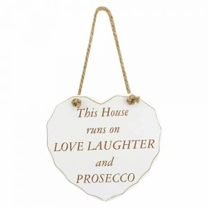 Prosecco Love Plaque