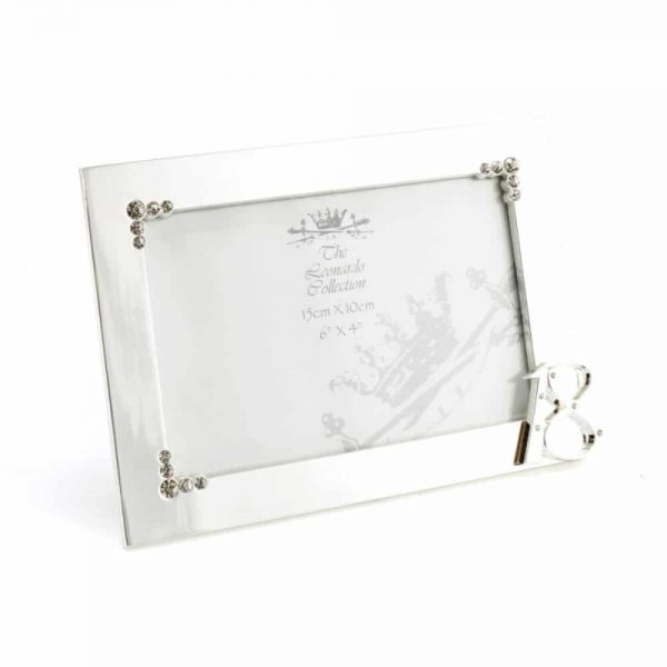 Silver Plated Frame 18Th 4x6in