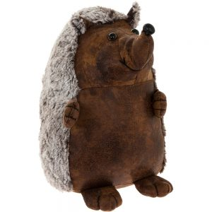 Faux Leather Hedgehog Doorstop