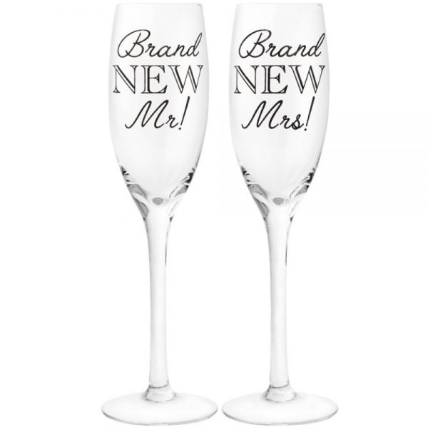 Brand New Mr and Mrs Flutes