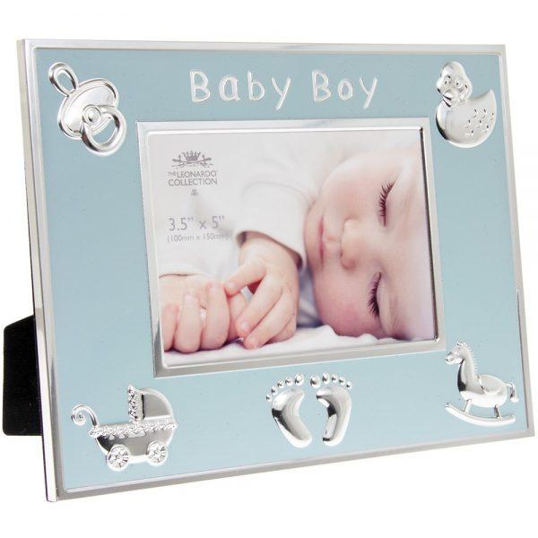 Blue Baby Boy Frame