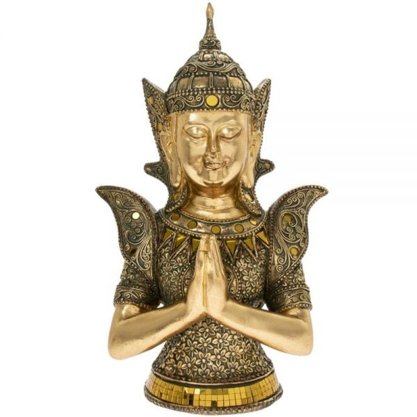 Gold Art Thai Buddha 18x12x30cm