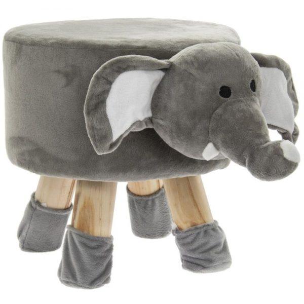 Elephant Stool 45x28x28cm