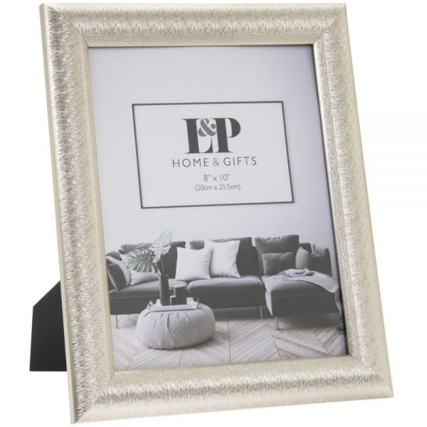 Silver Photo Frame 8x10in