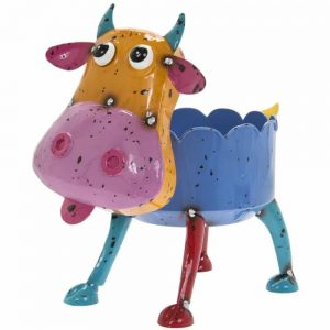Bright Eyes Cow Planter