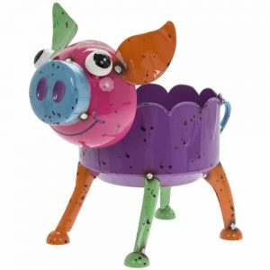 Bright Eyes Pig Planter