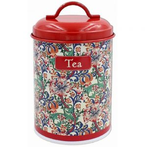 Golden Lily Tea Canister