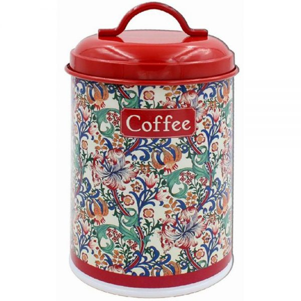 Golden Lily Coffee Canister