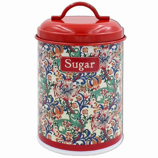 Golden Lily Sugar Canister