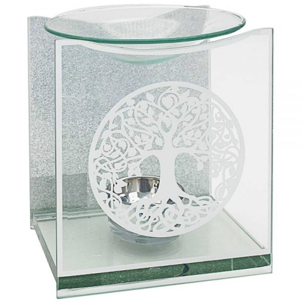 Mirror Tree of Life Oil Burner