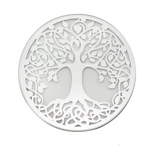 Mirror Tree of Life Candleplate 10cm