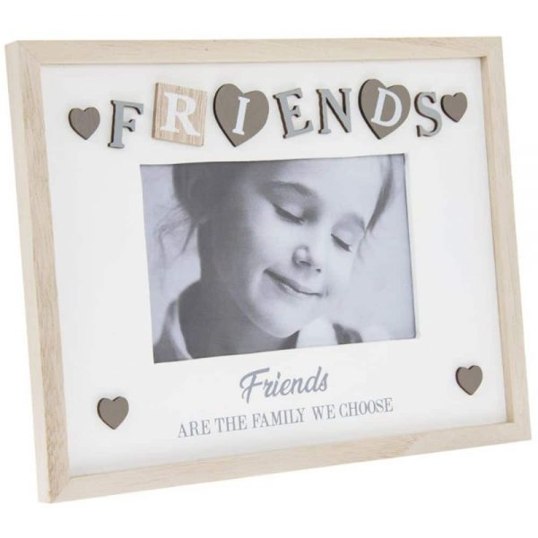 Sentiments Frame Friends 4x6in