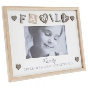 Sentiments Frame Family 4x6in
