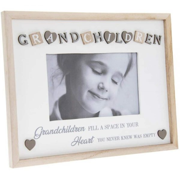 Sentiments Frame Grandchildren 4x6in