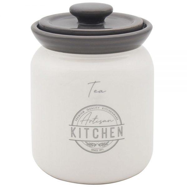 Artisan Kitchen Ceramic Tea Canister