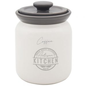 Artisan Kitchen Ceramic Coffe Canister