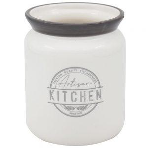 Artisan Kitchen Ceramic Utensil Holder