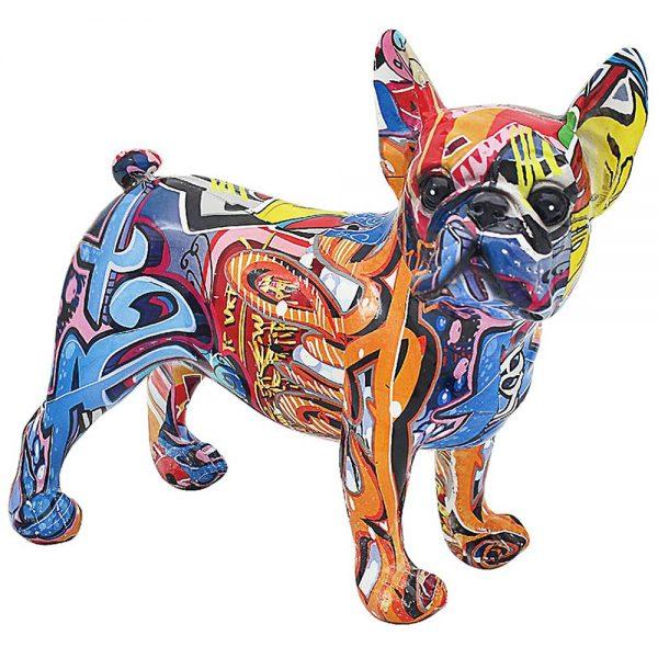 Graffiti French Bulldog 24x22x16cm