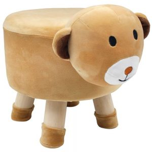 Bear Childrens Stool 29x29x27cm
