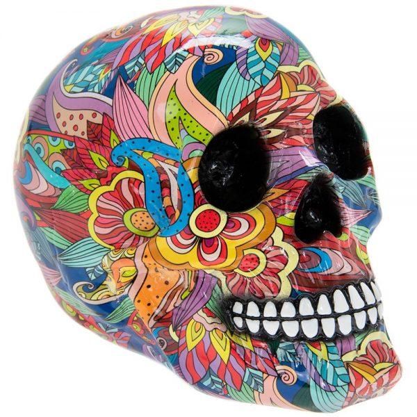 Groovy Art Skull Large 19x12.3x14.9