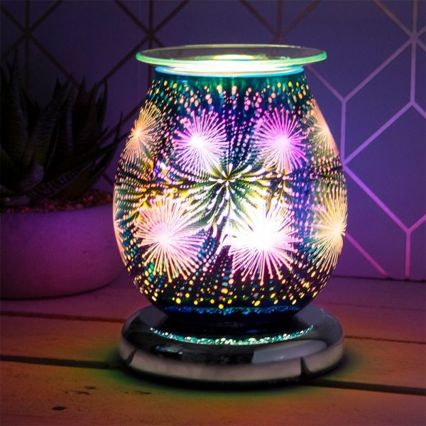 Desire Aroma Lamp Sparkle - Glass - 12x12x17