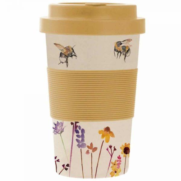Bamboo Busy Bees Travel Mug