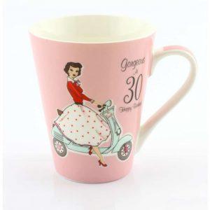 Mrs Smith 30th Birthday Mug