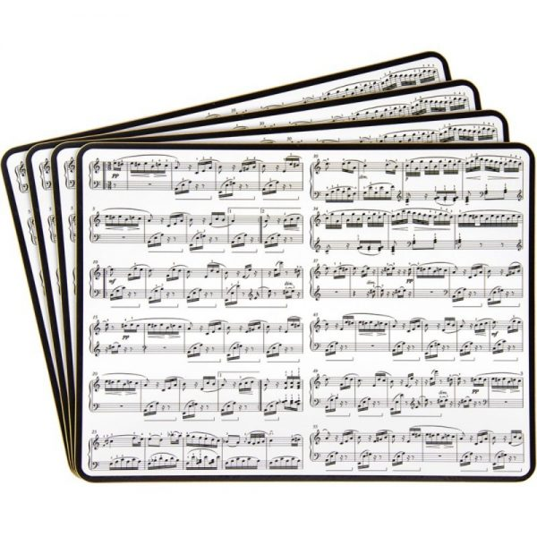 Making Music Placemats Set of 4