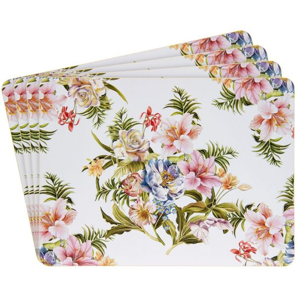 Lily Rose Placemats Set of 4  29x22cm